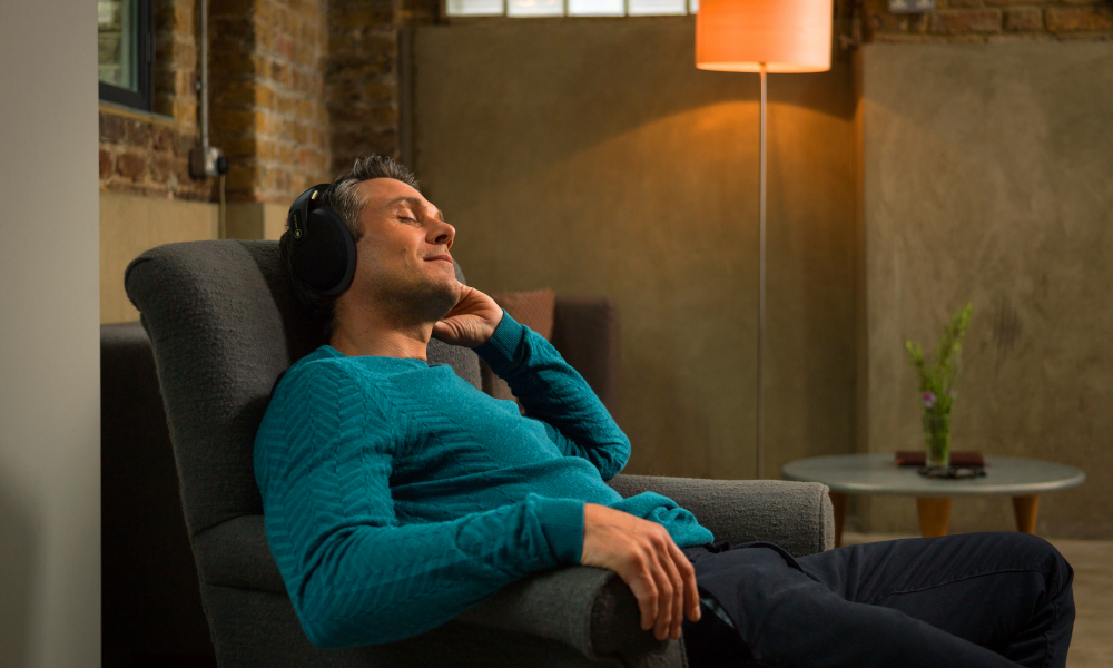 Relax and sleep with audio